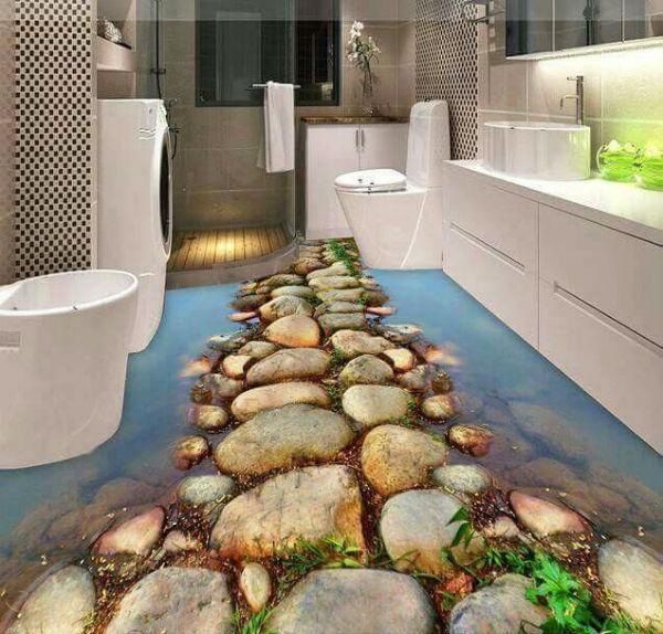 Trang trí nhà tắm độc là hiện là xu hướng hiện nay