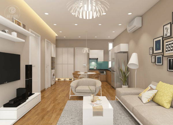 Càng đơn giản càng đẹp là cách trang trí nội thất độc lạ và mới mẻ