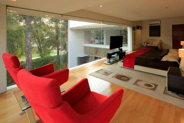 Sử dụng ghế thư giãn để trang trí phòng ngủ