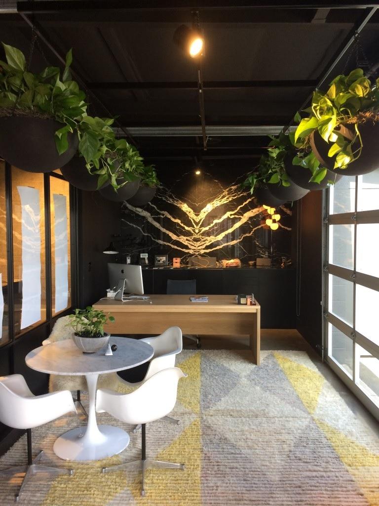 Không gian nội thất văn phòng - Không gian văn phòng xanh thoáng mát