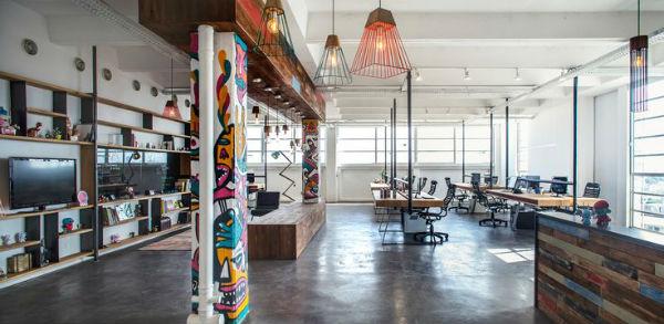 Không gian nội thất văn phòng phong cách