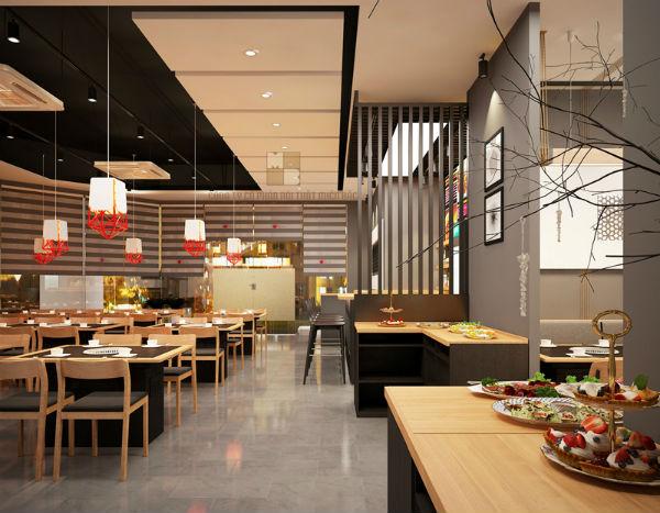 Cách trang trí nội thất, không gian nhà hàng là điều thực khách quan tâm
