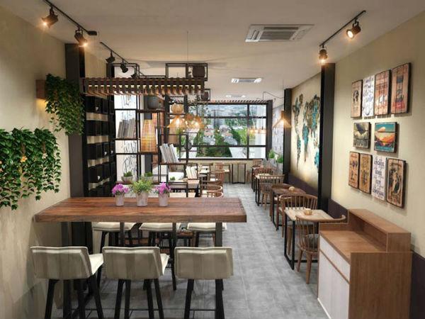 Trang trí quán café nhỏ đẹp bằng nội thất phù hợp