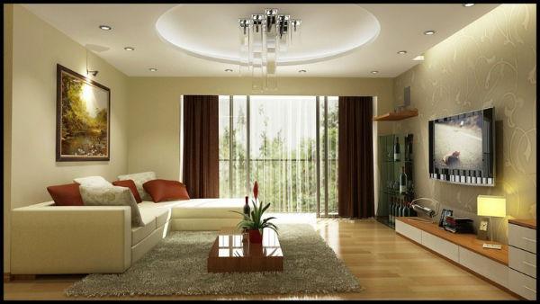 Nội thất đơn giản nhưng làm phòng khách trở nên sang trọng hơn