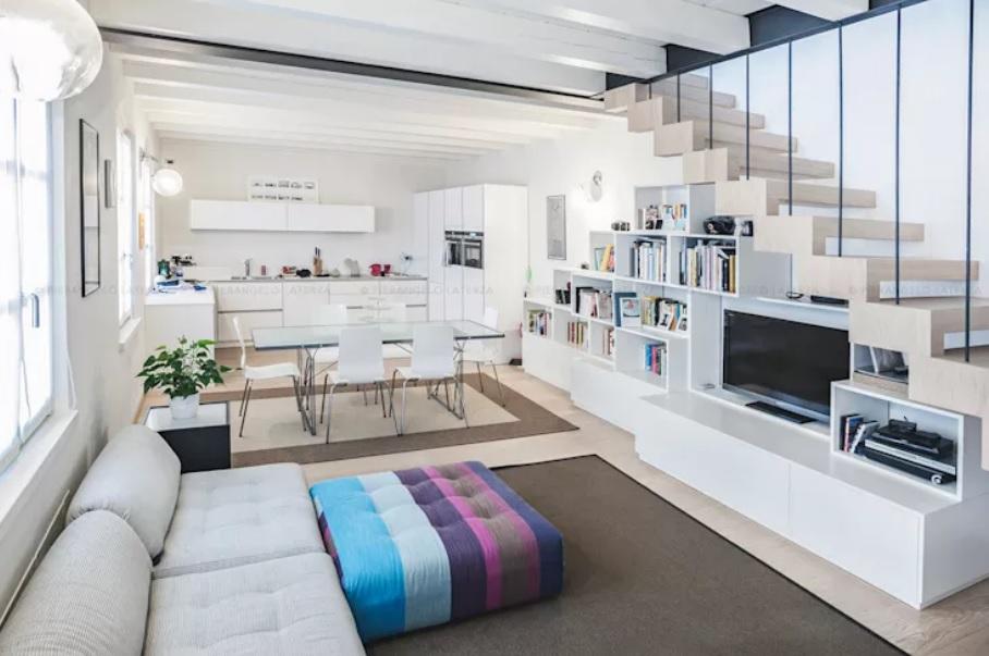 Không gian nội thất được bố trí đơn giản nhưng lại rất sang trọng