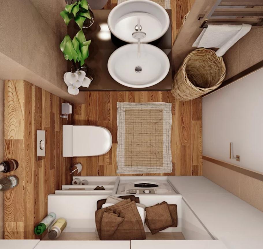Nội thất cho không gian nhỏ hẹp - Phòng vệ sinh thiết kế tiện nghi hơn