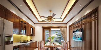 gương còn có tác dụng tăng thêm ánh sáng làm cho căn phòng trở nên cân đối