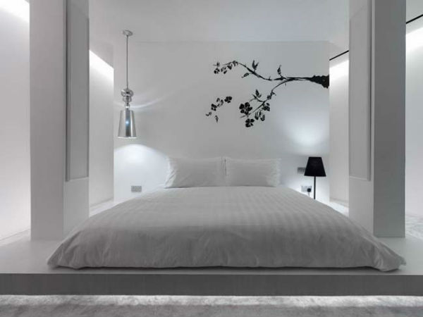 Phòng ngủ là nơi thư giản sau một ngày dài mệt mõi