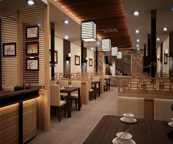 Trang trí nhà hàng độc lạ theo phong cách đương đại
