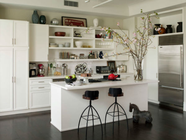 Nội thất nhà bếp được trang trí đẹp và độc lạ