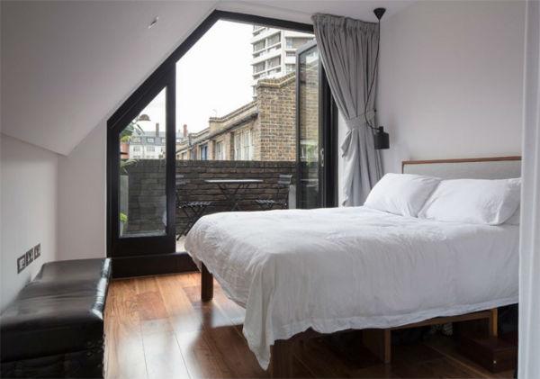 Trang trí phòng ngủ độc lạ theo phong cách tối giản