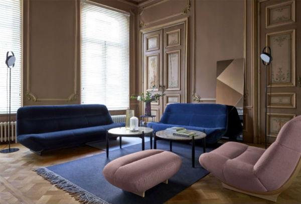Màu sắc phòng khách được lựa chọn chủ yếu vào sở thích của gia chủ