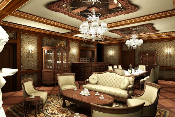 Trang trí phòng khách theo xu hướng nội thất Pháp