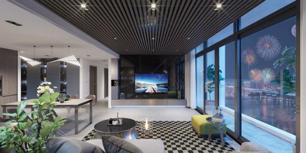Trang trí phòng khách theo xu hướng nội thất Mỹ