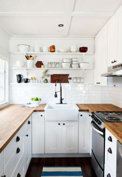 Tận dụng tất cả khoảng trống trong căn bếp để có thể tiết kiệm tối đa diện tích