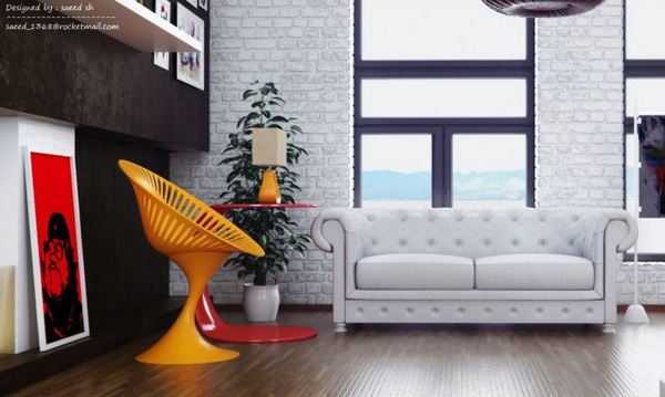 Phong cách nội thất theo hướng hiện đại