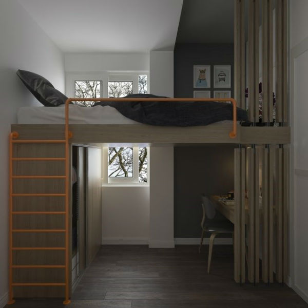 Các mẫu giường ngủ này được thiết kế vô cùng linh hoạt