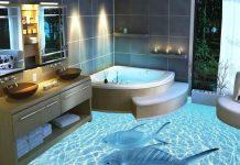 Trang trí nhà tắm độc lạ