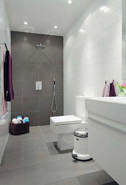 Phòng tắm đẹp kết hợp phòng tắm vòi hoa sen