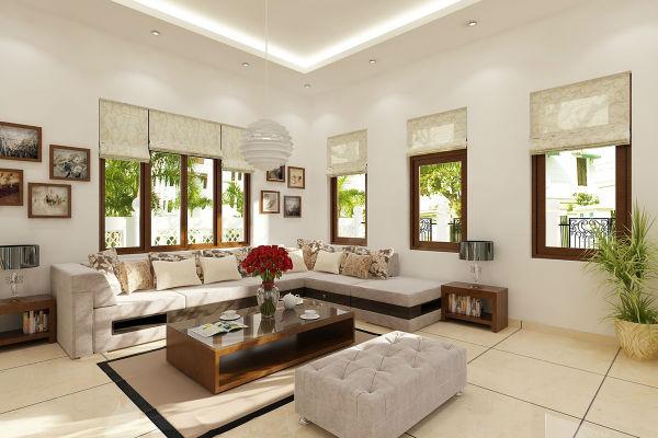 Trang trí phòng khách độc lạ theo phong cách hiện đại