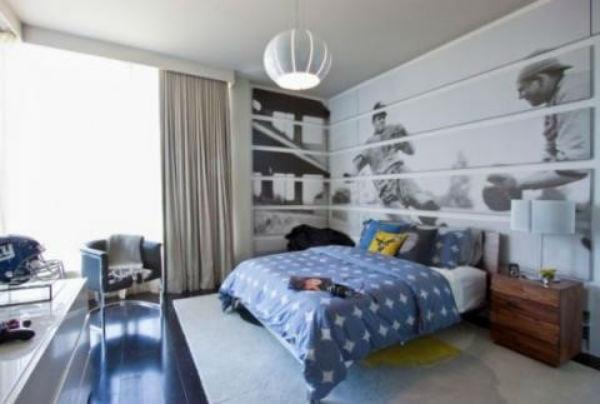 Trang trí phòng ngủ theo sở thích rất phổ biến hiện nay