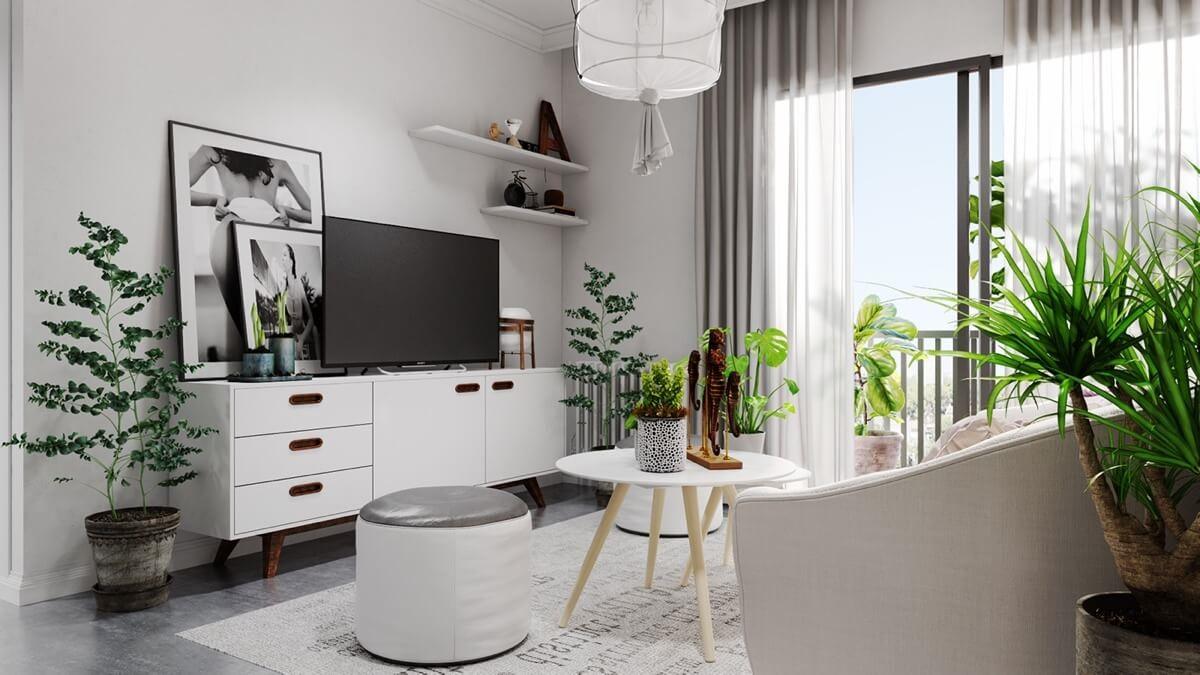 Không gian nội thất nhà phố đẹp 1