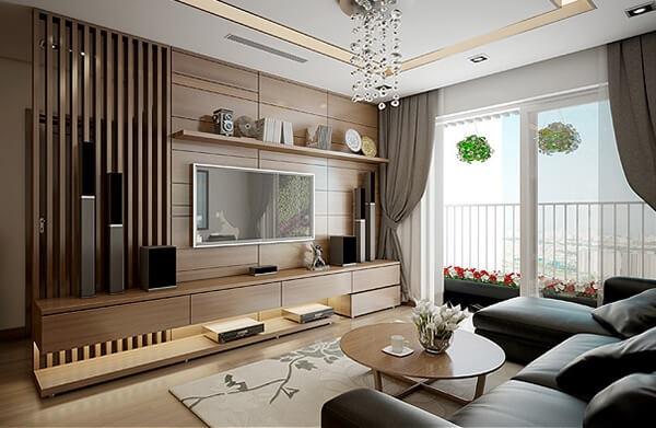 Không gian nội thất nhà phố đẹp 2