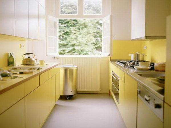 Trang trí nội thất bếp kiểu Galley