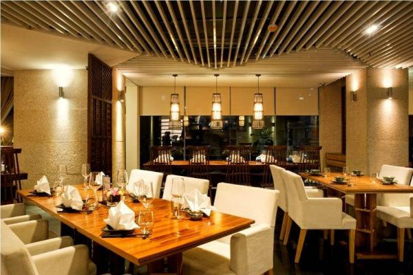 Trang trí nội thất nhà hàng theo ánh sáng