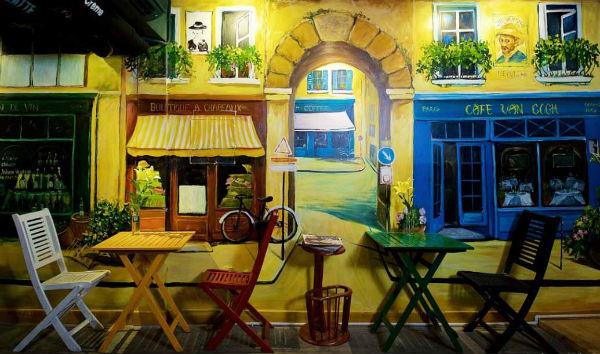 Thiết kế quán café cần có điểm nhấn ấn tượng