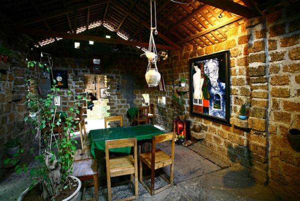 Trang trí quán café độc và lạ theo phong cách mộc