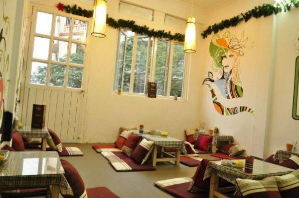 Trang trí quán café độc và lạ theo phong cách Nhật Bản