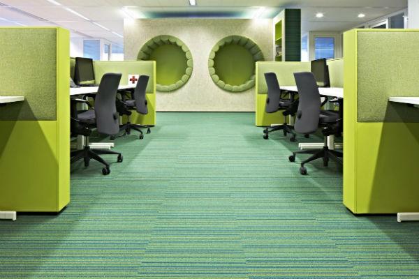 Màu sắc có thể ảnh hưởng lớn đến không gian làm việc của bạn