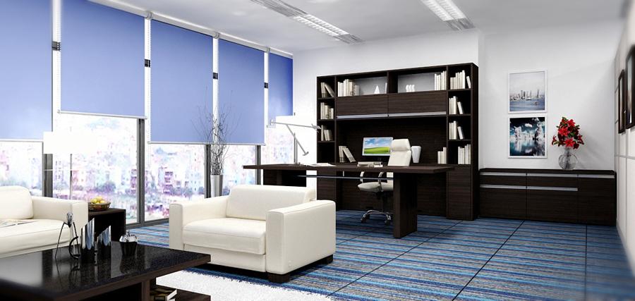 bàn làm việc của sếp nên được đặt ở những nơi thông thoáng, yên tĩnh