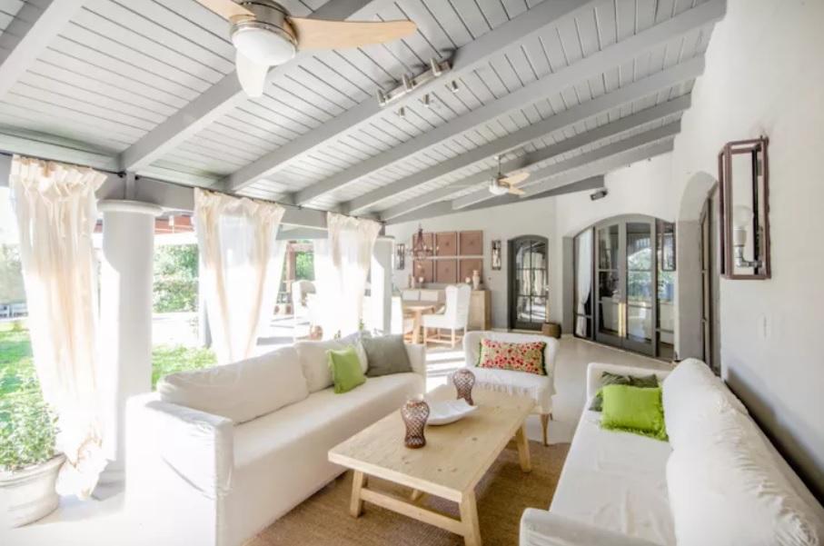 Không gian nội thất nhà ở hoà hợp với thiên nhiên