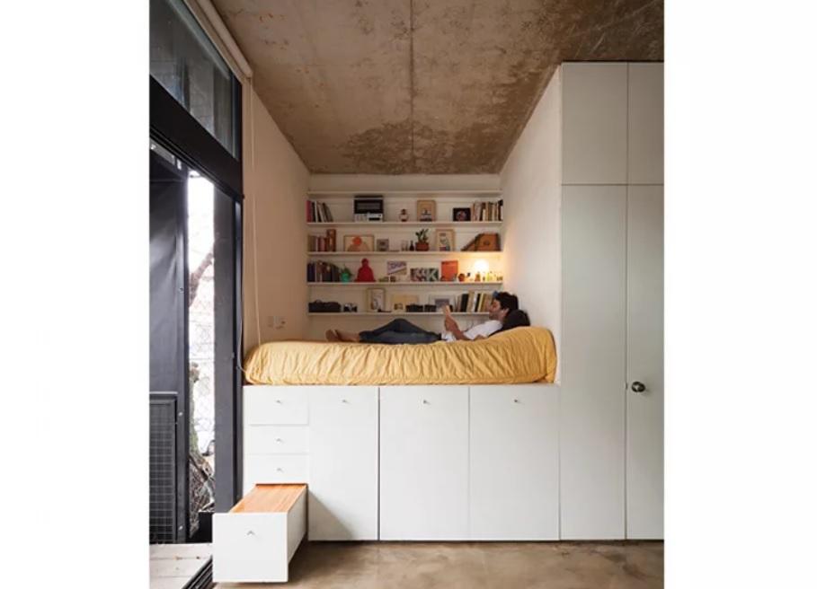 Nội thất cho không gian nhỏ hẹp - Nên tận dụng một cách tối đa khoảng trống trong nhà