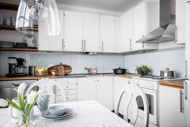 Màu sắc phong thuỷ ở trong không gian bếp