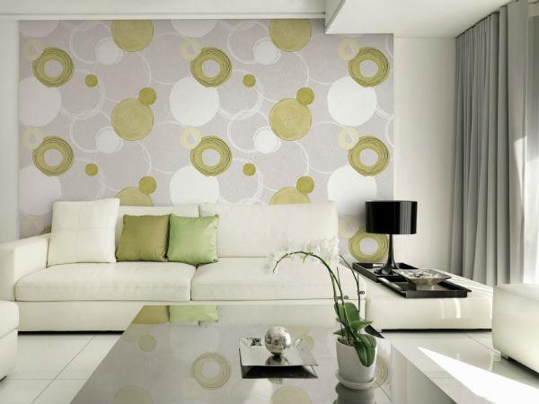 Trang trí nội thất bằng giấy dán tường