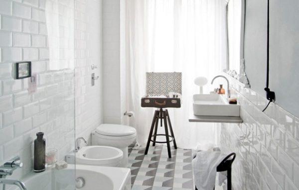 phòng tắm Vintage