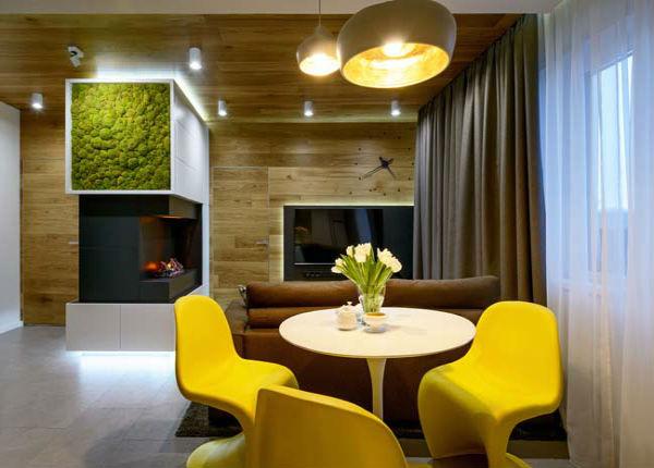 Mẫu thiết kế sử dụng tông màu ấm được nhiều gia chủ ưa chuộng