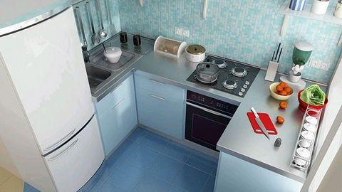 màu sơn cho bếp phải chọn những màu hài hòa và phù hợp