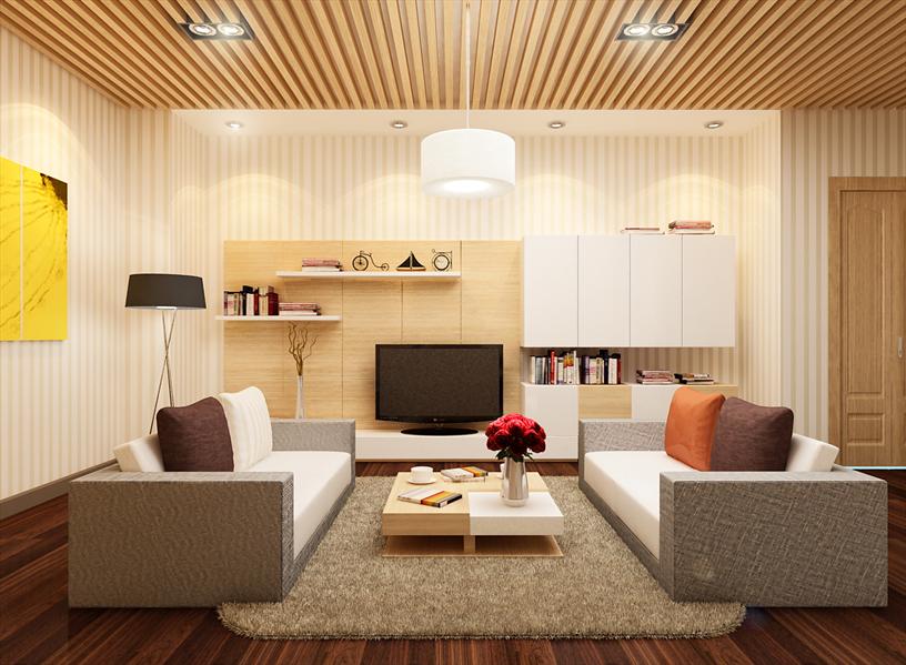 Hướng của chung cư là hướng thẳng góc với mặt cửa ra vào chính