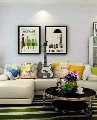 trang trí phòng khách theo phong thủy