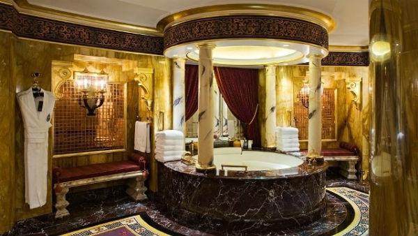Thiết kế trang trí nhà tắm theo phong cách cổ điển