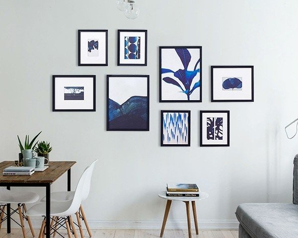 Sử dụng khung ảnh treo tường trang trí cho văn phòng thêm sáng tạo