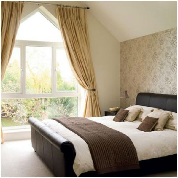 Phòng ngủ nên có ánh sáng tốt hơn cho gia chủ
