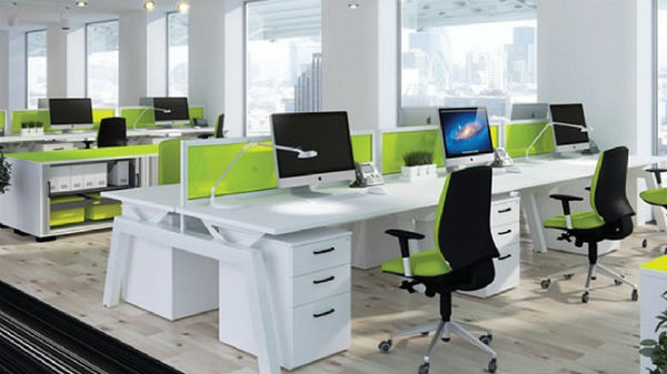 Thiết kế văn phònglàm việc theo đội nhóm – phong cách mở
