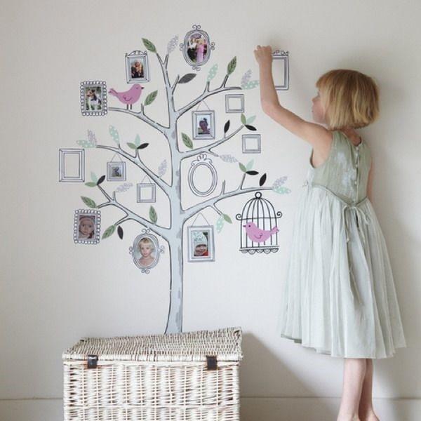 Trang trí nhà với ảnh và hình vẽ tạo nên sự sống động