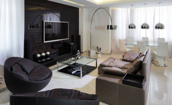 Bố trí nội thất ngôi nhà phù hợp với diện tích
