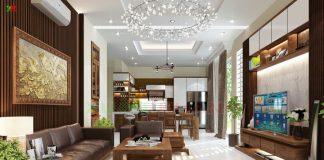 Các xu hướng thiết kế nội thất hiện đại phòng khách